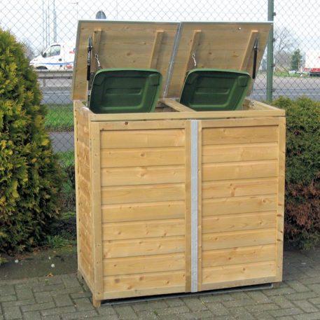 Container ombouw Twin 120 vooraanzciht