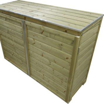 Containerombouw Trio 120 deksel gesloten