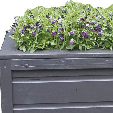 Schilder je plantenbak in een leuke kleur