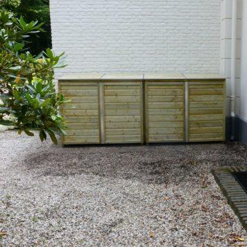 Container ombouw Quatro