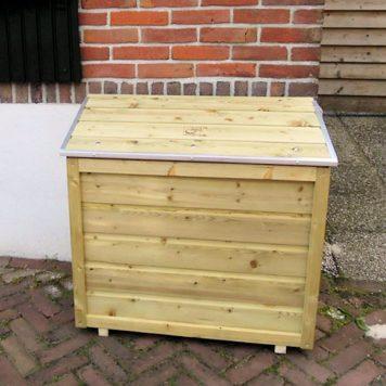 Gasflessenkist 804575 met houten deksel