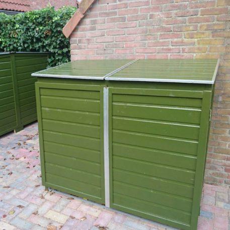 Twin 240 door klant groen geschilderd