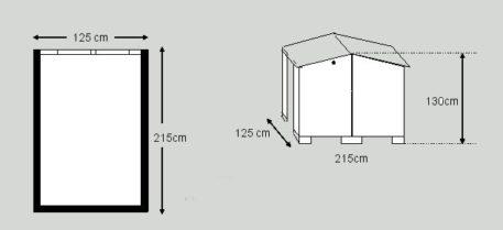 Fietsberging Solida 125