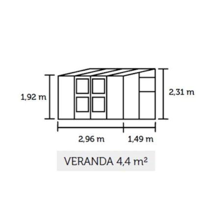Schets van Veranda 44