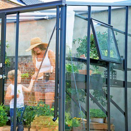 Muurkamer Veranda is voorzien van regenpijpafvoer