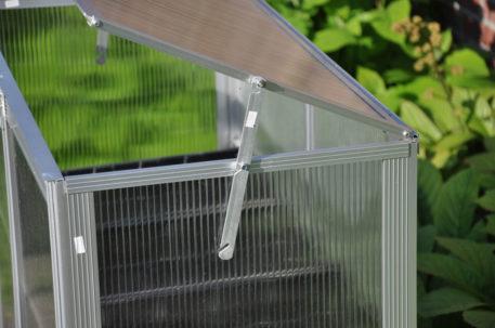 Grow station met goede ventilatie