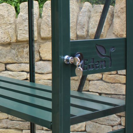 Birdlip kweekkas is voorzien van slot
