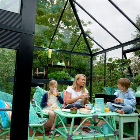 Tuinkamer Oase functioneel als buitenkamer