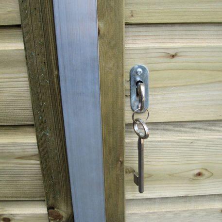 deursluiting met draaislot