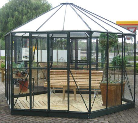 Atrium tuinprieel onderhoudsvriendelijk