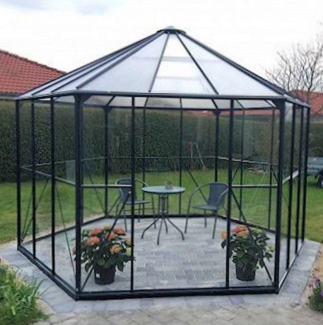 Tuinprieel Atrium 380x380 groen