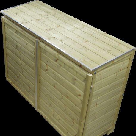 Containerombouw Trio 140 deksel gesloten