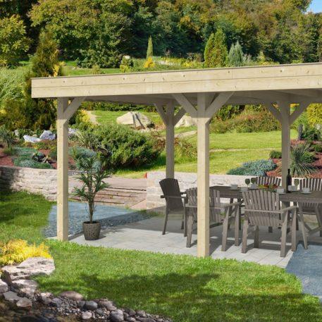 Wordt dit jouw overkapping in je tuin?