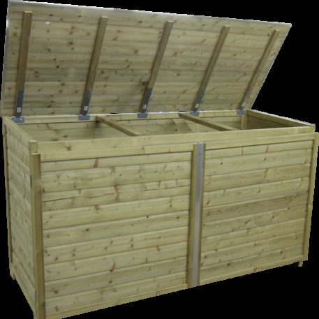 Containerombouw Trio 260 deksel geopend