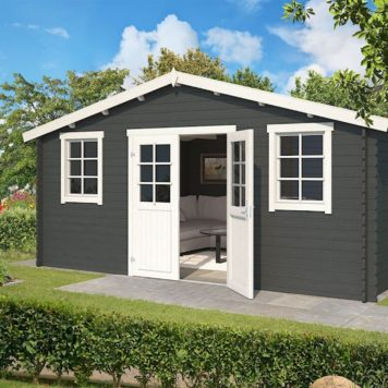 Kies tuinhuis Udo 480x380 in een leuke kleur