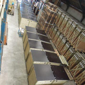 volop productie in de werkplaats