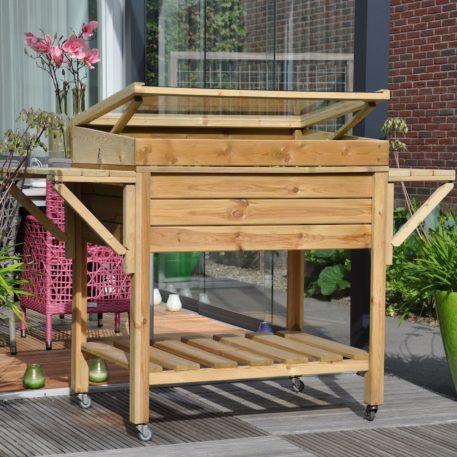 Mooi op je terras, patio of balkon de grower on wheels