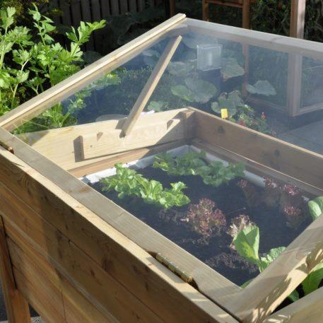 Je tuinkruiden kweken in de grower on wheels