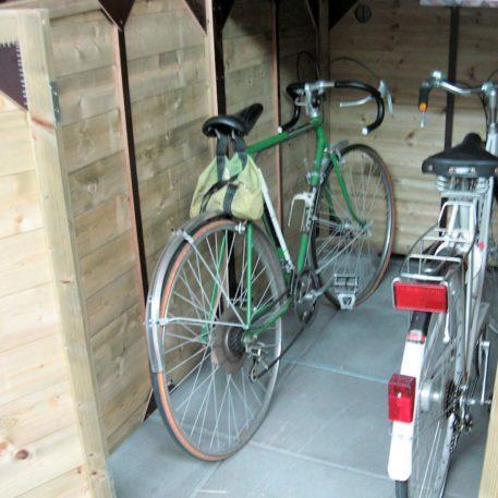 Hoeveel fietsen wil jij kwijt in de fietsenberging