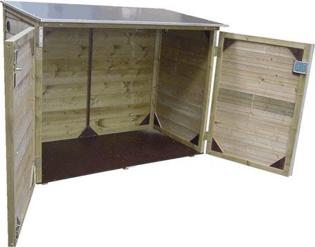 Lage Tuinkast Solida 141113122 met betonplex dak en bodem