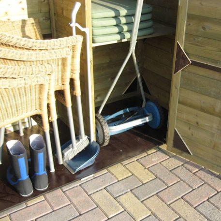 Ruim je tuinspullen op in Tuinkast Solida
