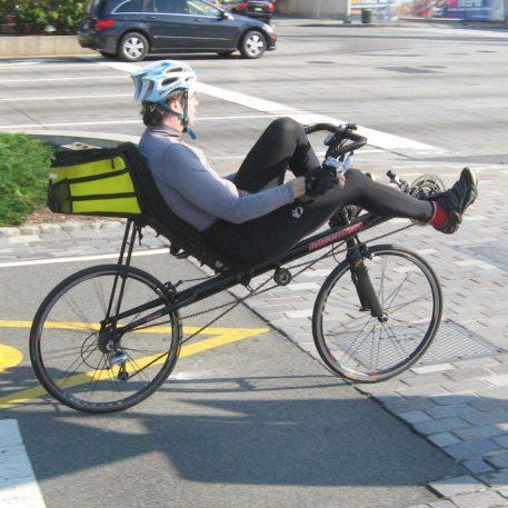 fietsenberging ligfiets