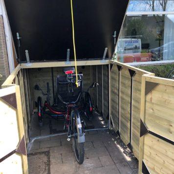 Fietsberging driewielerfiets